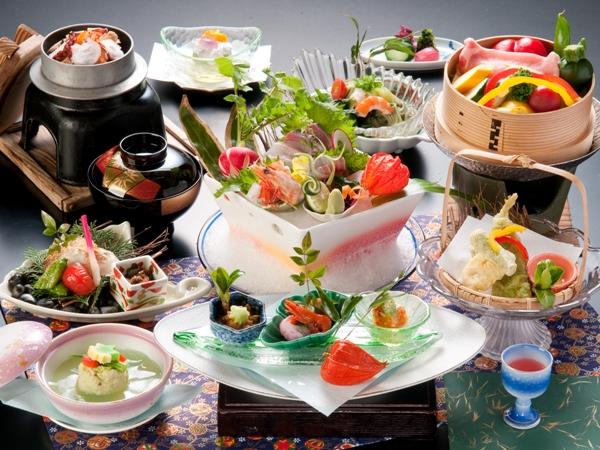 7-8月 夏の選べる松竹梅の会席 松プラン 季節の会席※画像はイメージ
