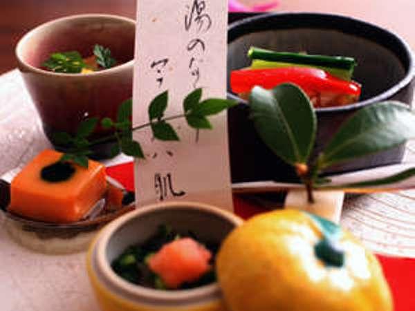 【じわもん会席】土地の味・季節の味