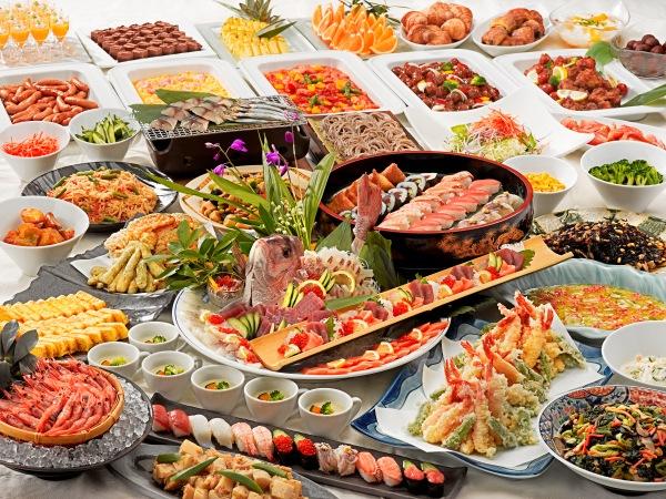 和洋中バラエティに富んだ夕食バイキング ※画像はイメージです