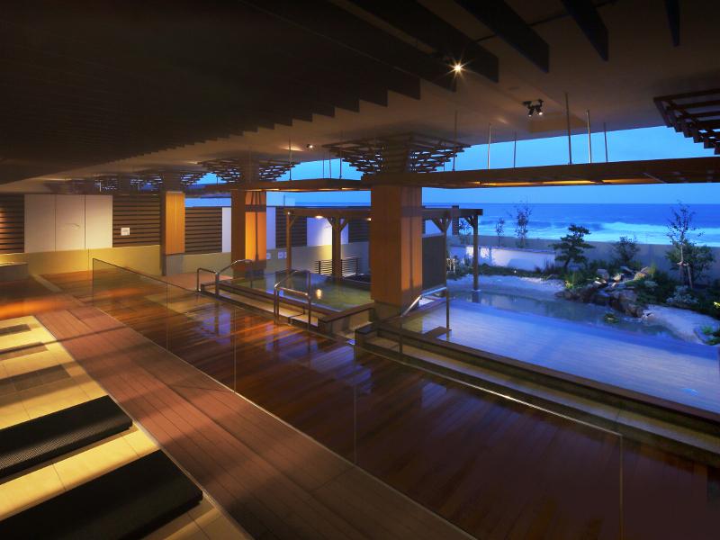 2014年7月大浴場リニューアル!新しくなった温泉大浴場「海の回廊」をお楽しみください。