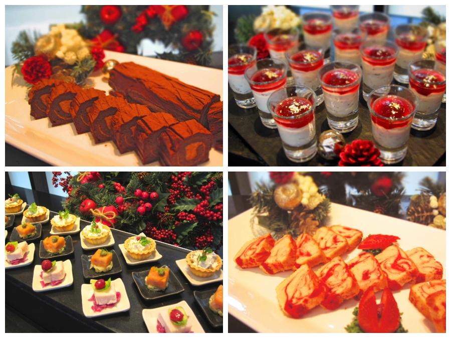 11/25〜12/25期間はクリスマスメニューがディナーブッフェに加わります