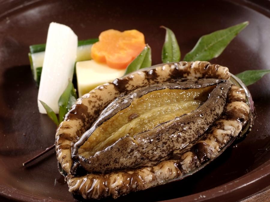 アワビ陶板蒸しバター焼き イメージ