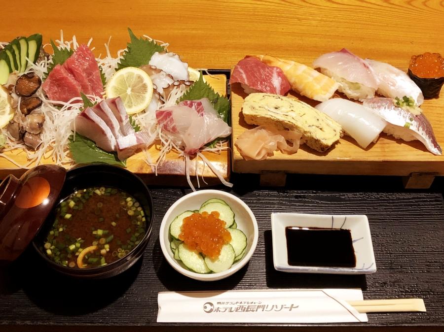 お部屋で寿司コース・プラン【朝食はテイクアウト朝食(お弁当付き)】