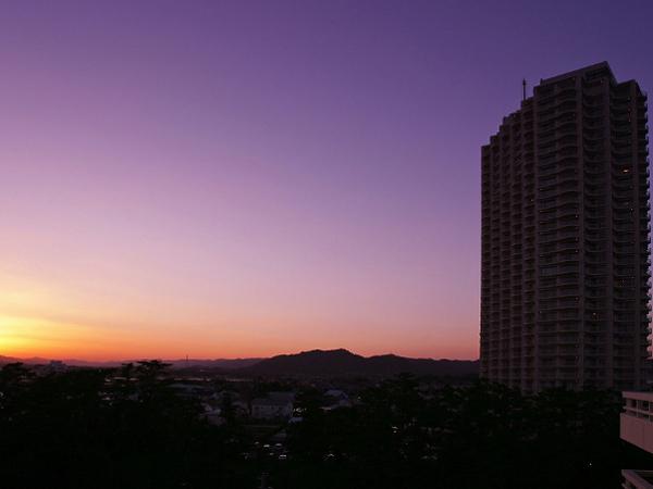全景(夕方)