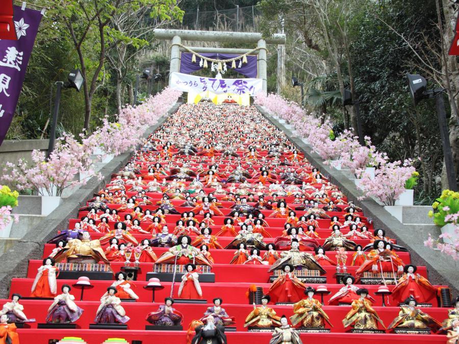 かつうらビッグひな祭りは勝浦の春の一大イベントです!