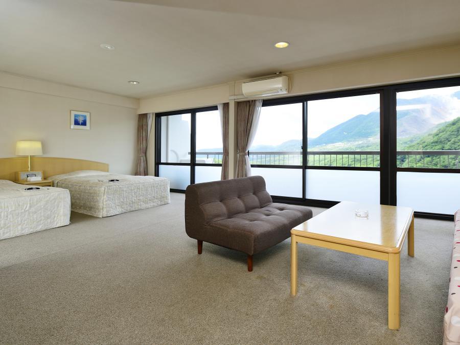 大自然の眺望を堪能できる客室はすべて南向き