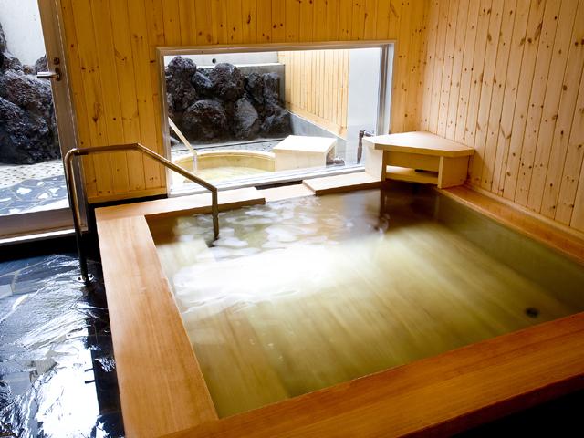 和風ひのき風呂
