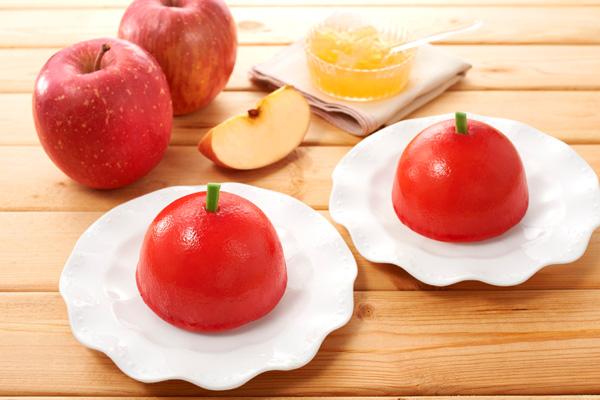 2018りんごのケーキイメージ写真