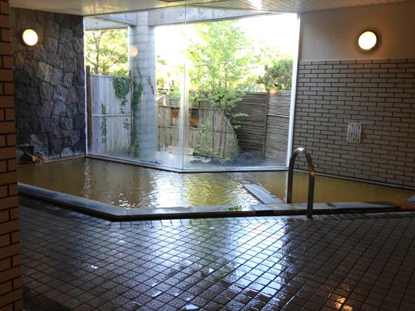 【大浴場】源泉かけ流し100%です!
