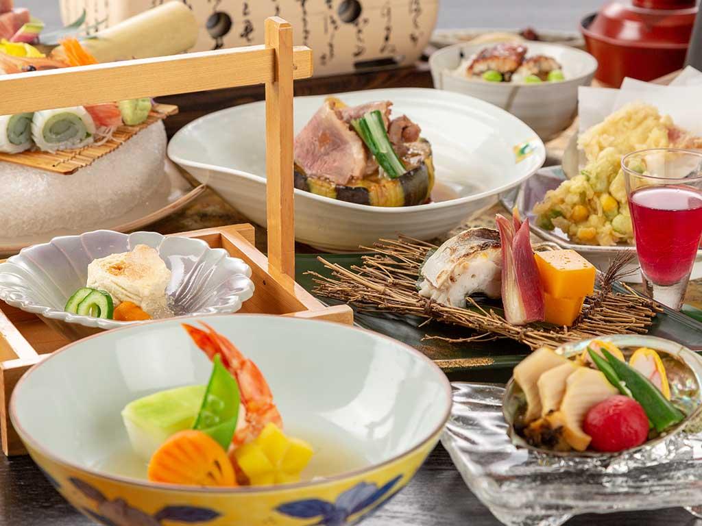 夏の饗宴の膳