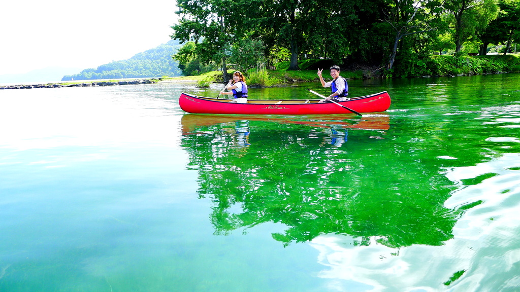 【カヌー】洞爺湖を最も間近で(?)見られます♪