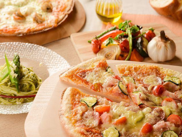 【サマーフェア】パスタ、ピザ