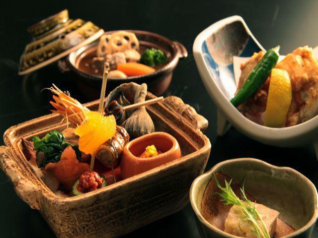 【冬会席-基本膳】前菜も美味です