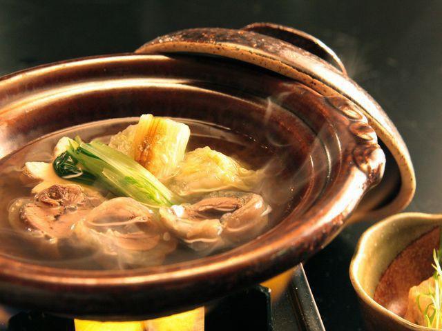 【冬会席-基本膳】すっぽん鍋で美肌に!