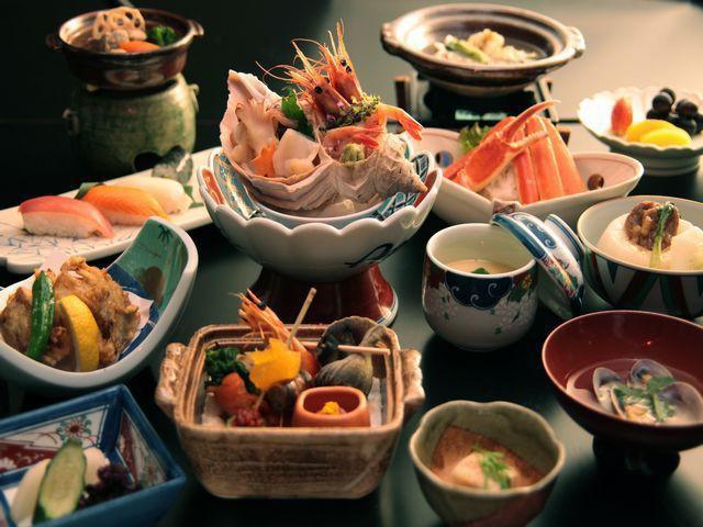 【冬会席-準会席膳】冬限定の会席料理