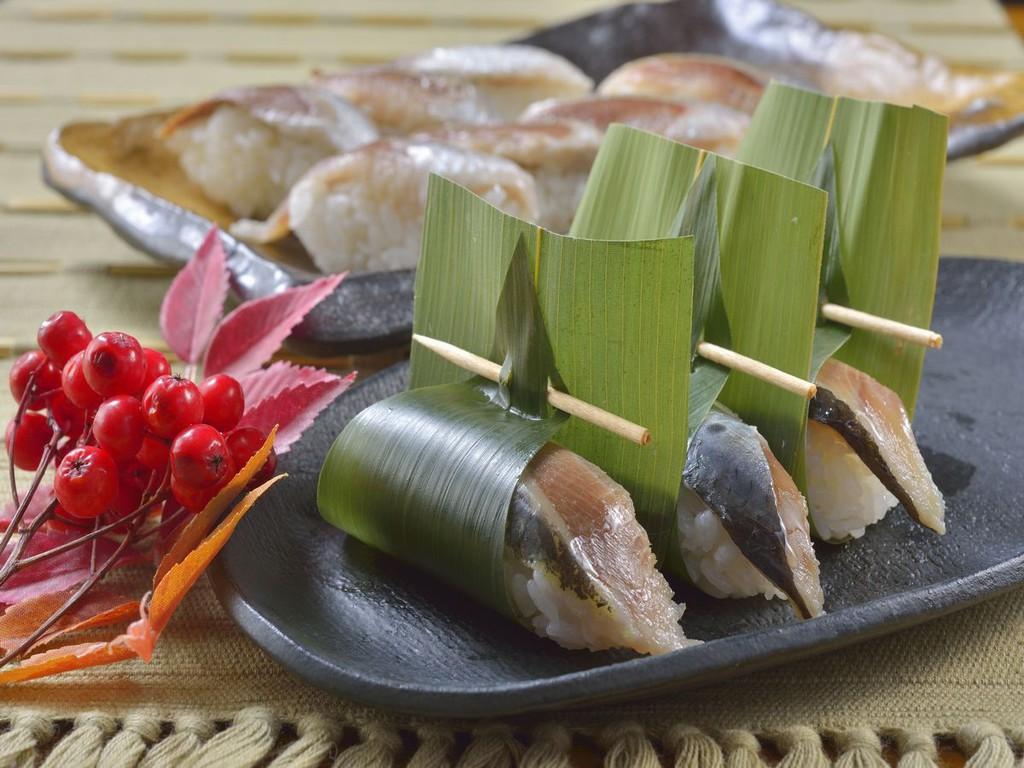 【ウィンターフェア】鰯の笹巻き寿司