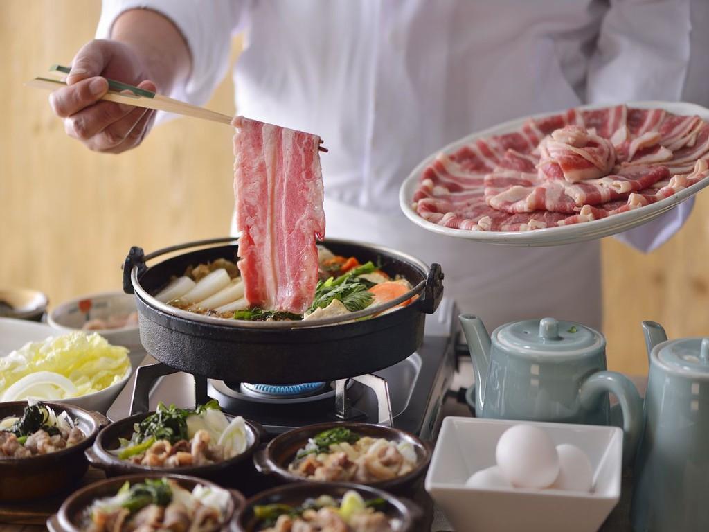 【サマーフェア】朝食)すき焼き