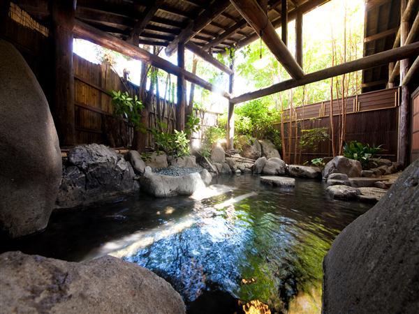 雰囲気がよい露天風呂