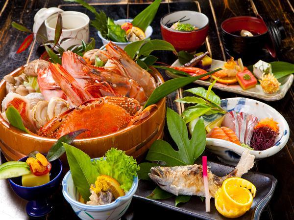海鮮鍋コース(一例