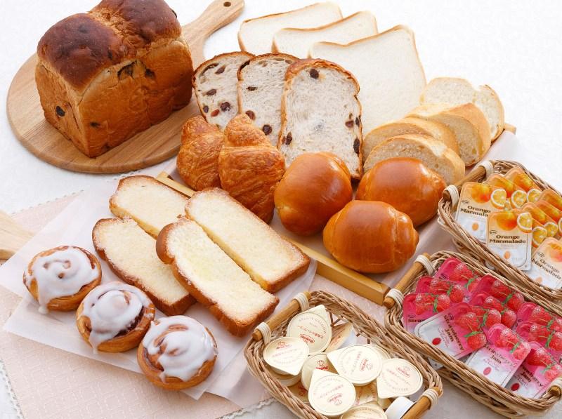 岡山木村屋の焼き立てパン