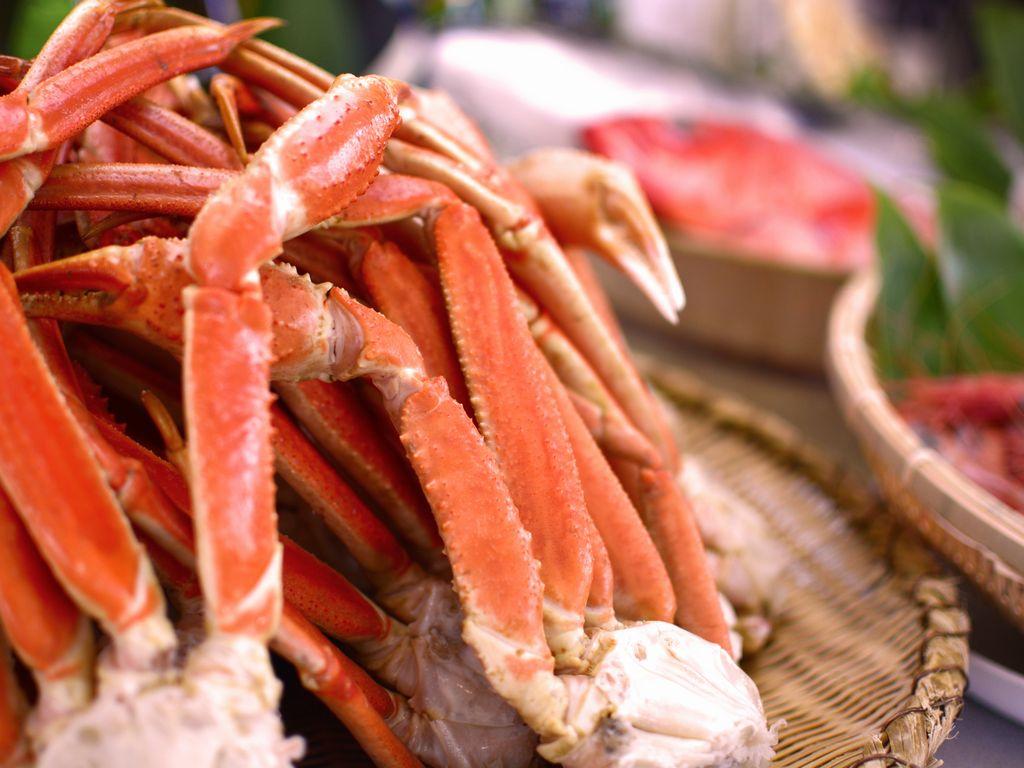 ずわい蟹も食べ放題☆
