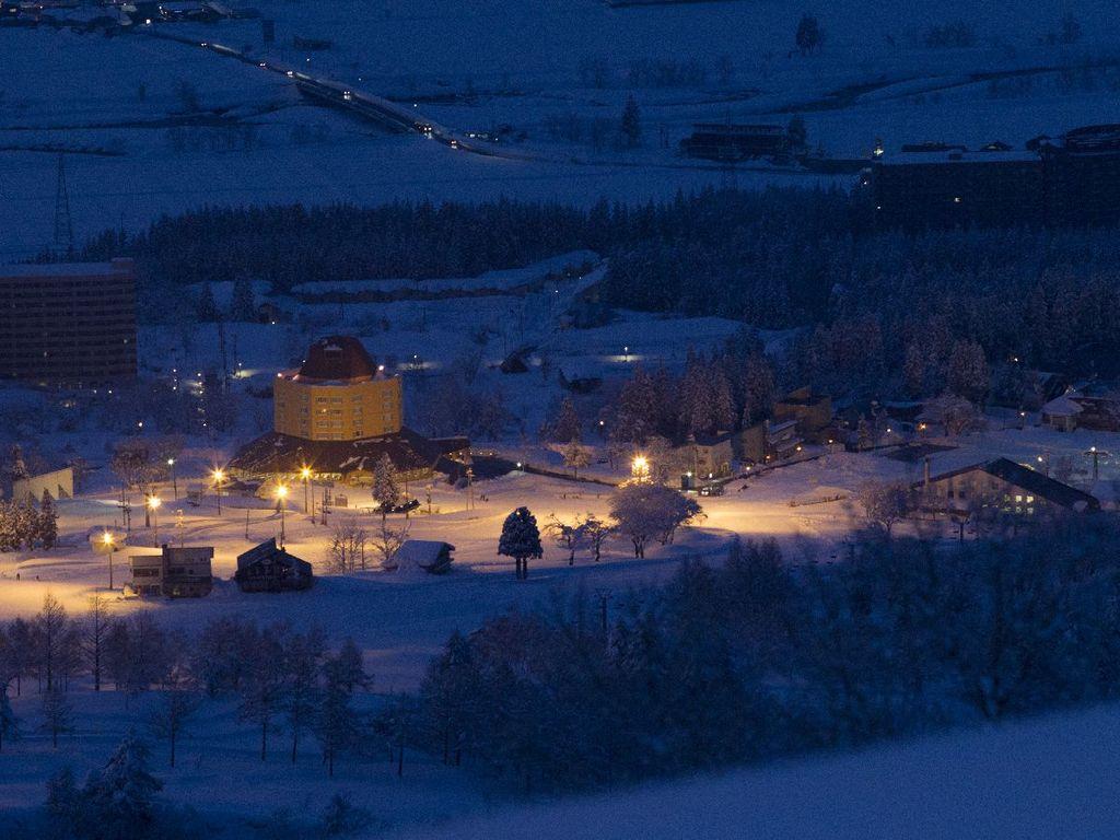 ホテル冬夜景