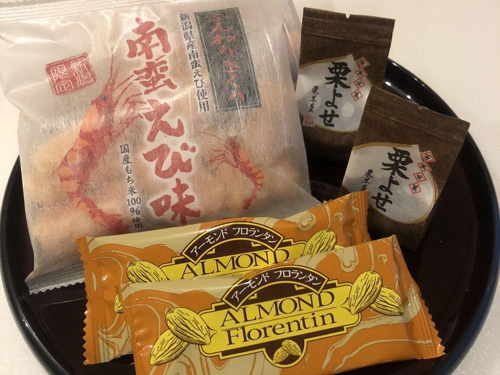 舞子スタッフ厳選客室茶菓子