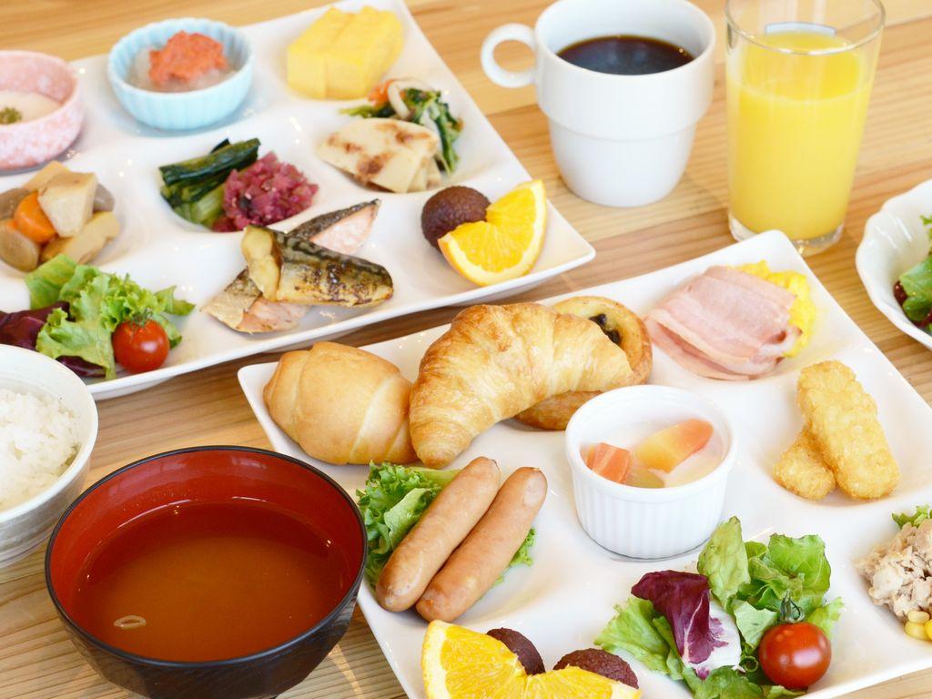 朝食ブッフェ(和洋食)