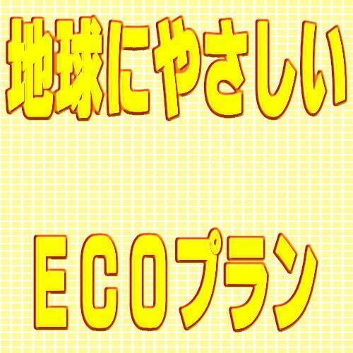 地球にやさしいECOプラン