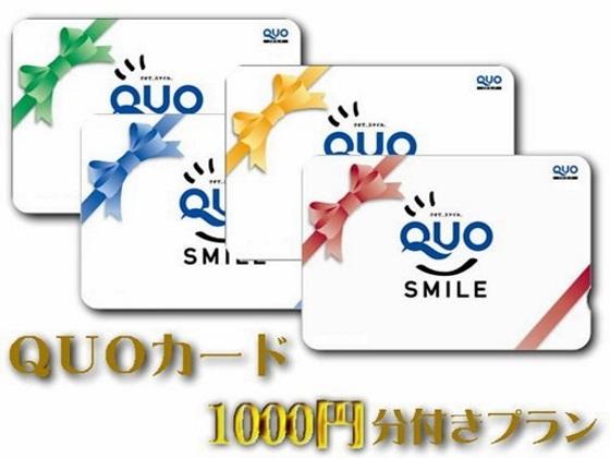 クオカード1000円付き