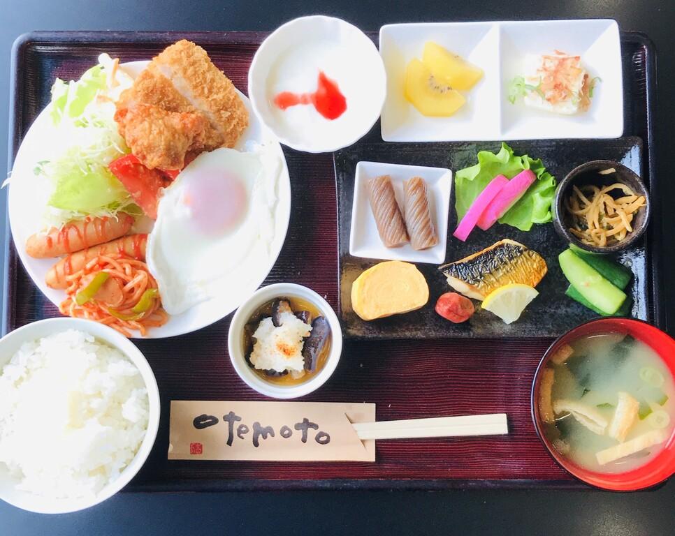 【定食スタイル】朝食例�@