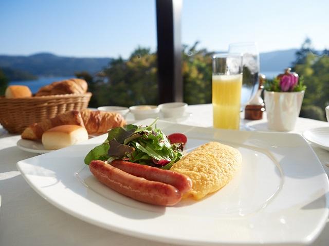 爽やかな朝の目覚めにピッタリの朝食をお選び頂けます。