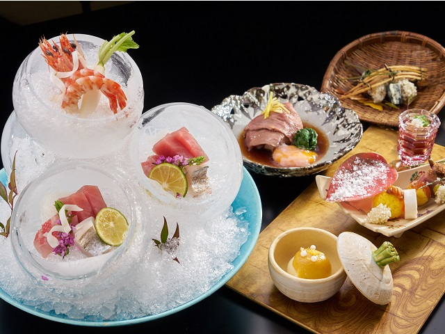 スペシャルディナーコース(日本料理イメージ)