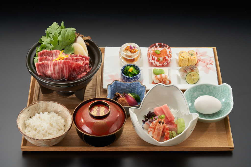 Sukiyaki Gozen(image)