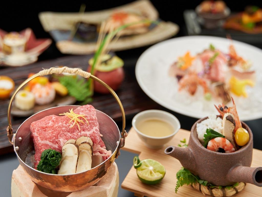 料理長こだわりの「秋の特別懐石」コース(イメージ)
