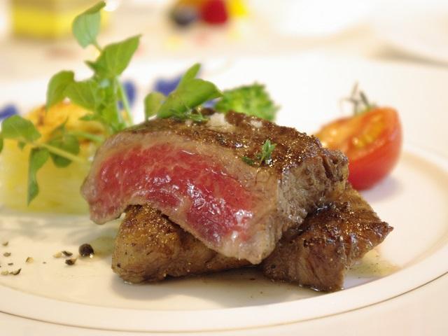 国産牛の薪火焼きステーキ(イメージ)