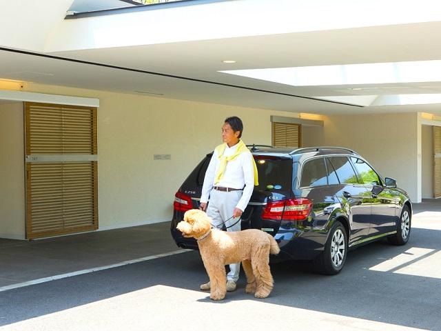 お部屋のすぐ近くにドッグフレンドリールーム専用駐車場をご用意。お荷物の移動もラクラクです♪