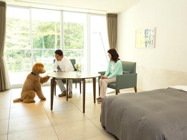 愛犬と充実したリゾートライフをお楽しみください。