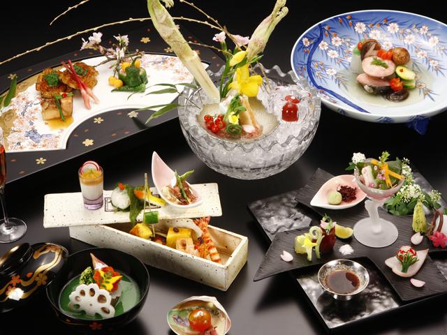 懐石料理(料理・器はイメージ)