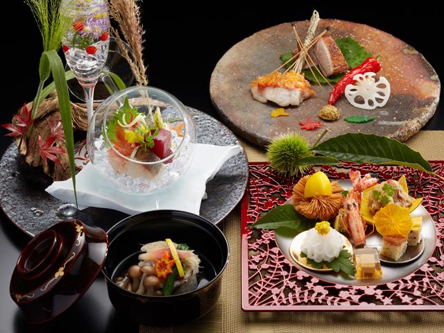 秋の懐石料理(イメージ)