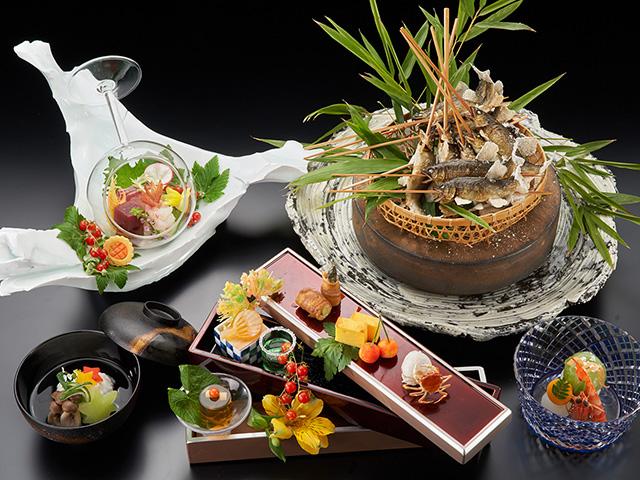 ご夕食・はつはな懐石(料理・器はイメージ)