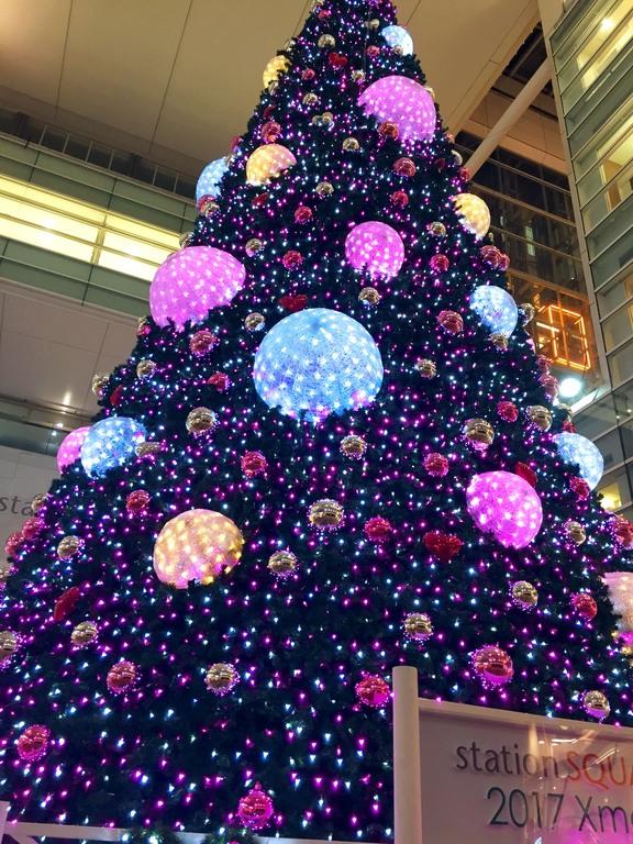 相模大野駅のクリスマスイルミネーション