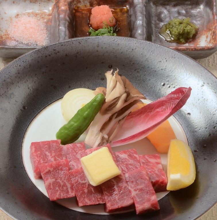国産牛陶板焼き(イメージ)