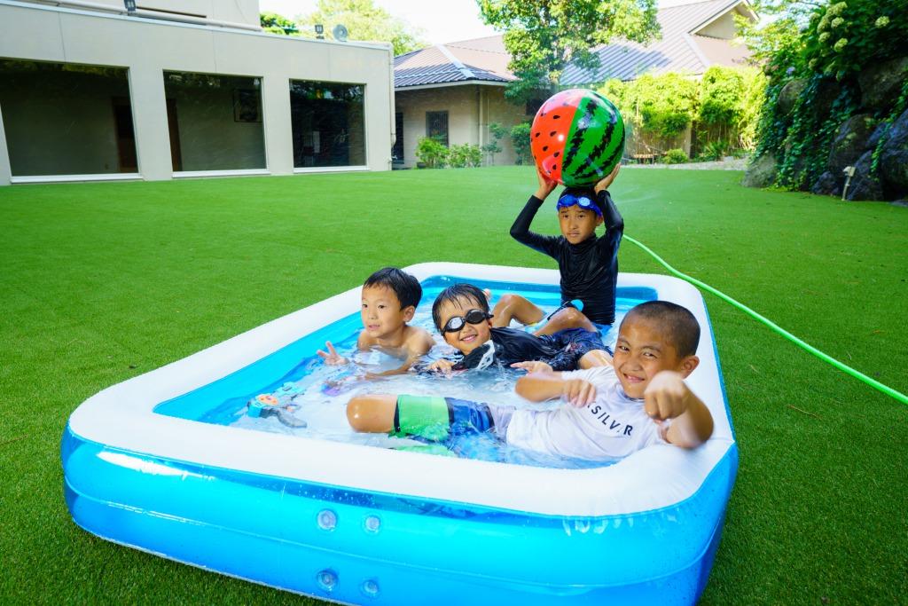 夏限定!!水遊び