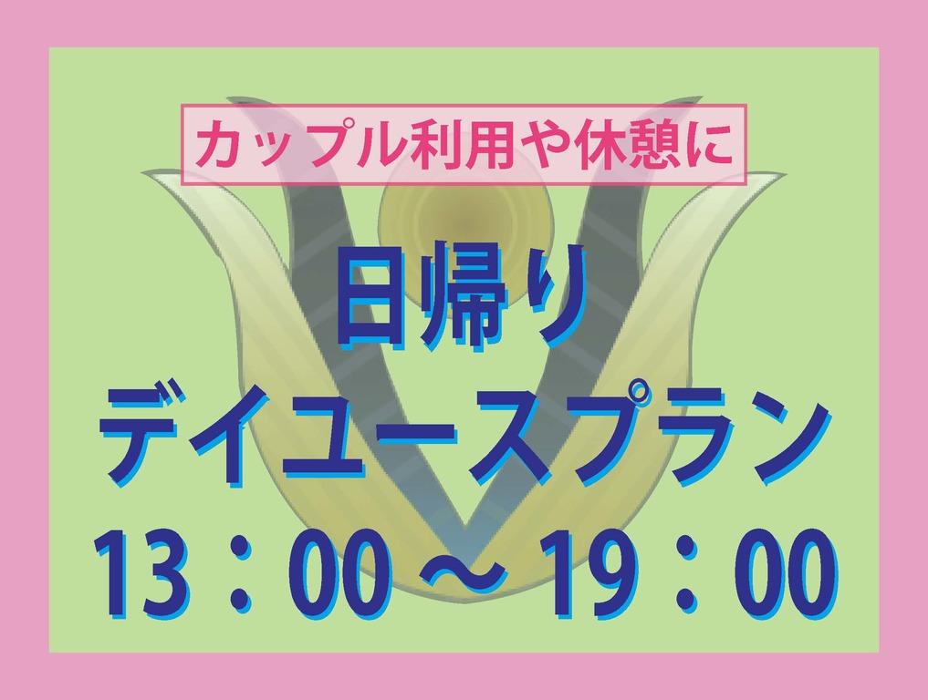 デイユース13:00〜19:00