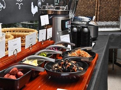 リニューアル朝食 和食コーナー
