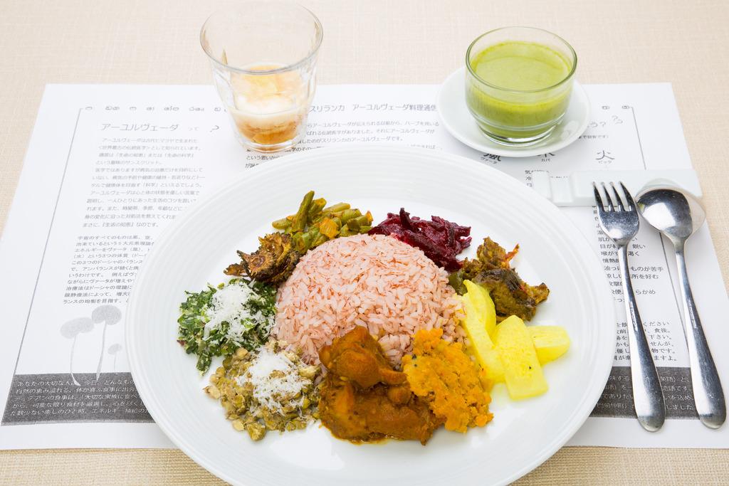ハーブを用いる伝統医学デーシャチキッサと、世界最古の伝統医学アーユルヴェーダが融合した大人気スリランカ健康食!