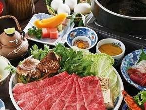 秋の味覚松茸を最高級の神戸牛と共に堪能☆