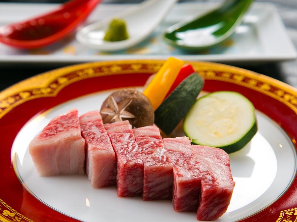 【福島県産和牛ステーキ会席】