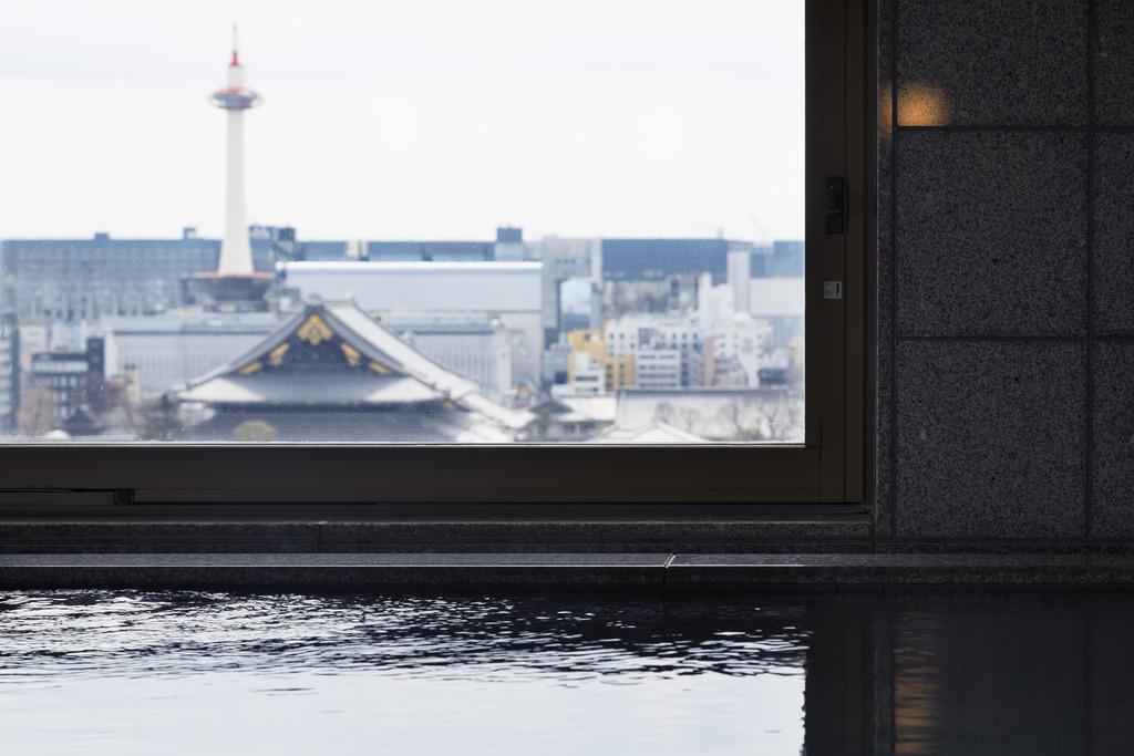 女性用大浴場から眺める景色